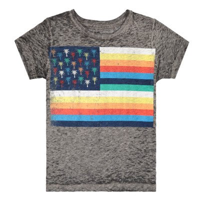 Californian Vintage Camiseta Palm Flag-listing