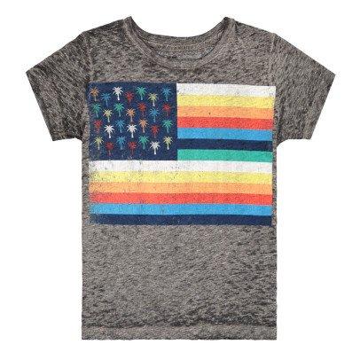 Californian Vintage Palm Flag T-Shirt-listing