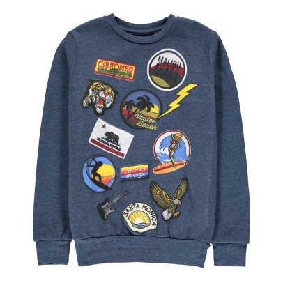 Californian Vintage Surf Patch Sweatshirt-listing