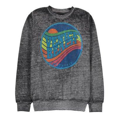Californian Vintage Sunset Cotton Burnout Sweatshirt-listing