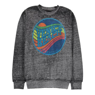 Californian Vintage Sweat Coton Dévoré Sunset-listing