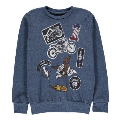 Californian Vintage Sweat Moto-listing