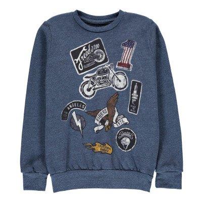 Californian Vintage Sweatshirt Motorrad -listing