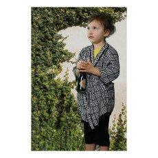 Cataleya Organic Cotton Graphic Kimono-listing