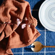 Whole Toalla tejida en algodón y lino Woti 65x80 cm-listing