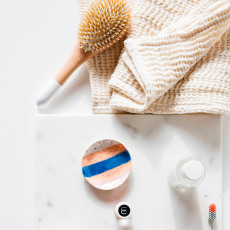 Lab Toalla de baño cordón-listing