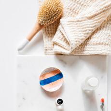 Lab Serviette de bain cordon-listing