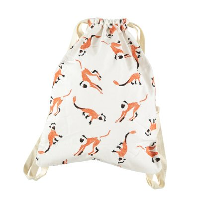 Nobodinoz Little Monkeys Backpack-listing