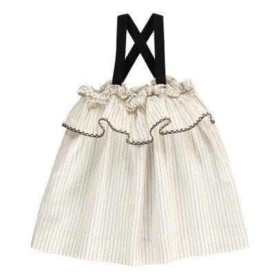 Babe & Tess Striped Ruffle Dress-product