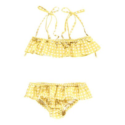 Babe & Tess Checked 2 Piece Swimsuit-listing