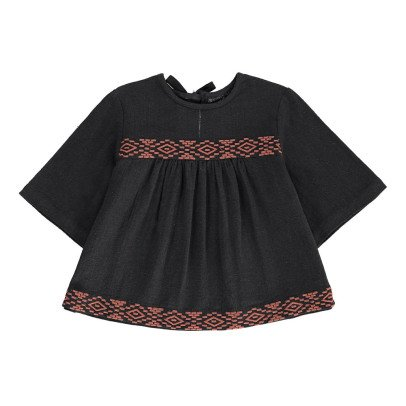Polder Girl Billy Embroidered Blouse-listing