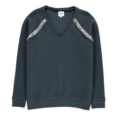 Blune Belle Etoile Textured Sweatshirt-listing