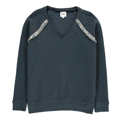 Blune Suéter Textura Estrella-listing