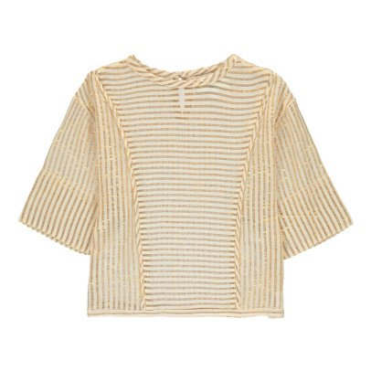 Polder Girl Bart Lurex Striped Blouse-product