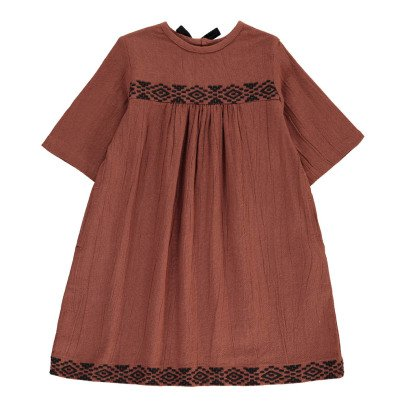 Polder Girl Boston Embroidered Dress-product
