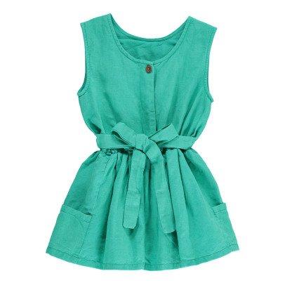 Bonnet à pompon Vestido Anudado Espalda-listing