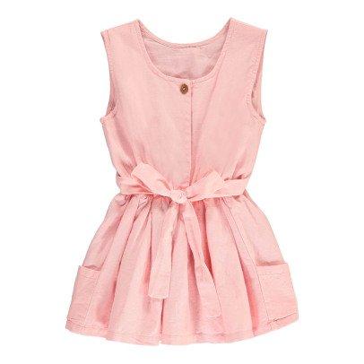 Bonnet à pompon Back Knotted Dress-listing