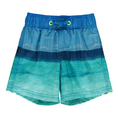 Sundek Short de Bain Maldives Bande Tricolore-listing