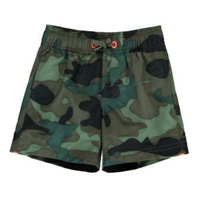 Sundek Three Band Camouflage Swimshorts-listing