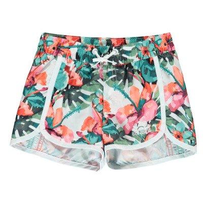 Sundek Shorts Mare Corti Fiori Tropicali-listing