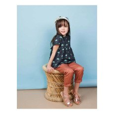 Blune Kids Palm Grove Polka Dot Blouse-product
