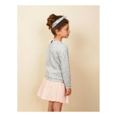 Blune Kids Gold Mine Lurex Quilted Sweatshirt-listing