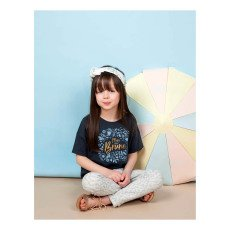 Blune Kids T-Shirt Mini Brune -listing