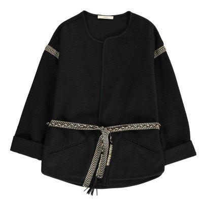 Sessun Luni Fleck Belted Jacket-listing
