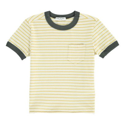 Babe & Tess Striped T-Shirt-listing