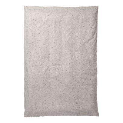 Ferm Living Housse de couette Hush en coton organique imprimé-listing