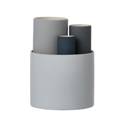 Ferm Living Collect Ceramic Vase - Set of 4-product