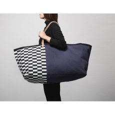 Ferm Living Herman Cotton and Leather Bag-listing