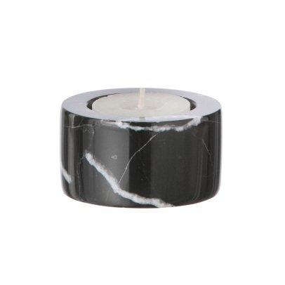 Ferm Living Porta candela effetto marmo-listing
