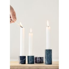 Ferm Living Marble Effect Candle Holder-product