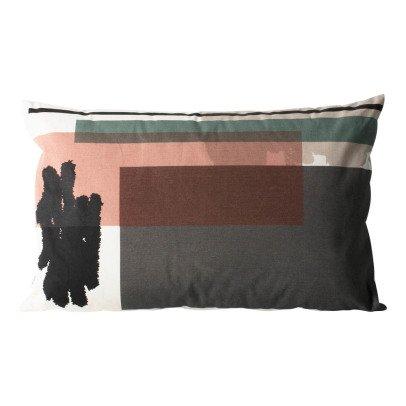 Ferm Living Cuscino sforderabile Colour Block n°4 in cotone organico-listing