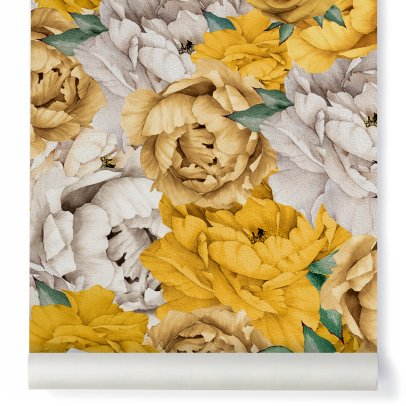 Papermint Papel Pintado Paonia Traditional-listing