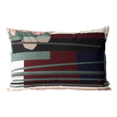 Ferm Living Cuscino sforderabile Colour Block n°3 in cotone organico-listing