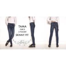 Finger in the nose Jeans Skinny mit Franzen Tama -listing