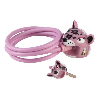 Crazy Safety Leopard Bike Lock-listing