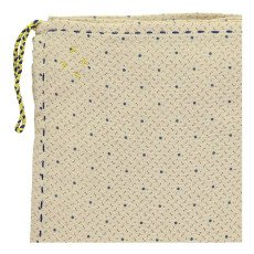 Camomile London Keiko Hand Embroidered Swaddling Blanket-listing