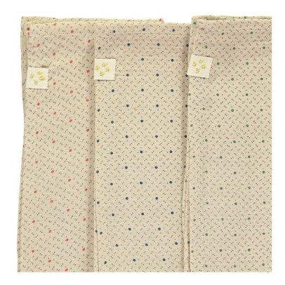 Camomile London Asciugamani in garza di cotone - set da 3-listing