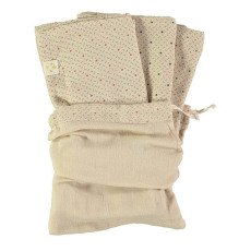 Camomile London Serviettes en gaze de coton - Set de 3-product