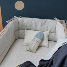 Camomile London Keiko House Cushion 11x26cm-listing