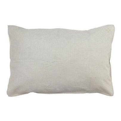 Camomile London Pillow Case With Small Check Lining-listing