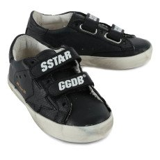 Golden Goose Superstar Leather Velcro Trainers-listing