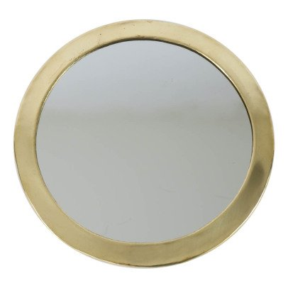 Smallable Home Round Metal Mirror-listing