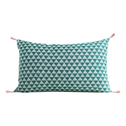 Jamini Alice Cotton Rectangular Cushion with Removable Cover-product