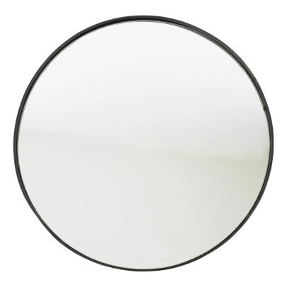 Smallable Home Wrought Iron Round Mirror-listing