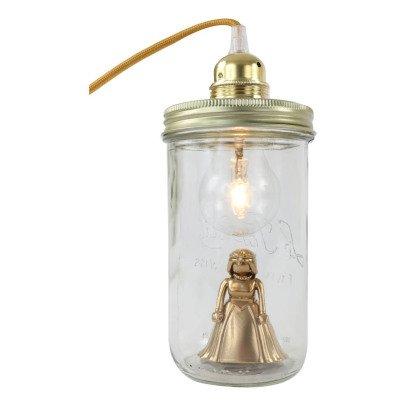 La tête dans le bocal Lampe bocal à poser princesse-listing