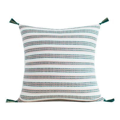Jamini Amélie Cotton Square Cushion with Removable Cover-product